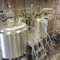 1000L 2 eller 3 fartøy Brewhouse Commercial Used Beer Production Equipment