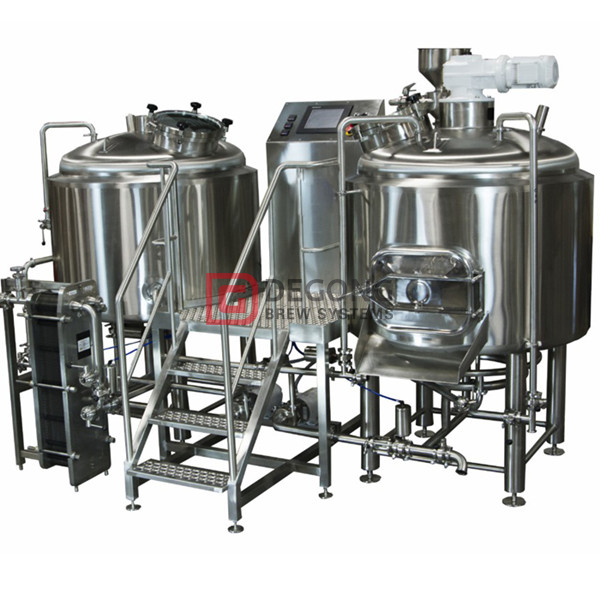 10BBL Automated Commercial Craft Beer Making Equipment for Brewpub / Restaurant