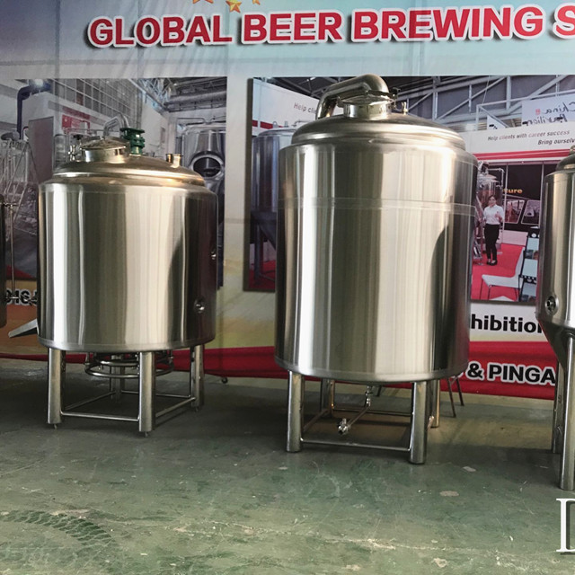 500L Micro Turnkey Customized Craft Beer Brewing Equipment til salgs