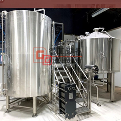 10HL Craft Turnkey Industrial Beer Brewery Equipment til salgs