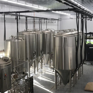 10BBL Beer Fermentation Tank Double Wall Isobaric Conical Fermenter / Unitank til salgs